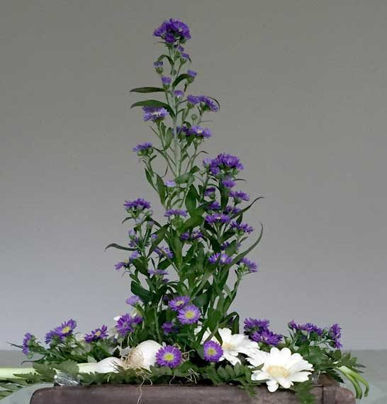 Blomsteropsats kan laves efter Jeres ønsker.